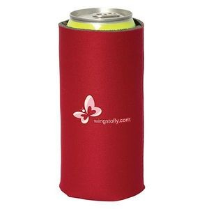 6 CORAL Collapsible Can Coolers For Sublimation Or Screen Printing