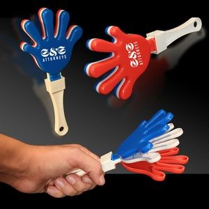 "7"" Hand Clapper - Red & White & Blue"