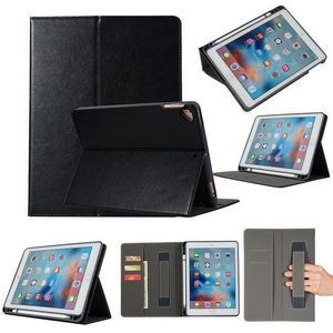 "Universal iPad 9.7"" Snap In Handstrap Case with Pencil Slot"