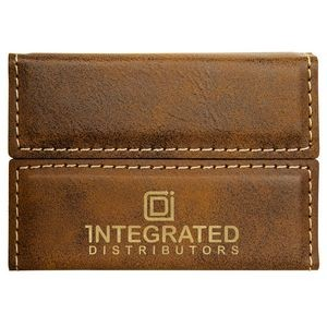 Genuine Hand Made Soft Leatherite Bus Pass Oyster ID Credit Card Thin Wallet
