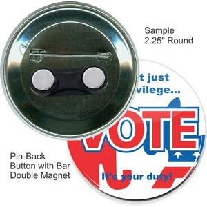 Lapel Magnet Bullying Awareness 1 Inch Buttons Flat Back Set of 5 Pin Back